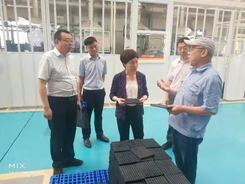 区委书记张帆调研姜谭经开区重点项目建设